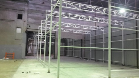 Чистая комната для линии окраски
